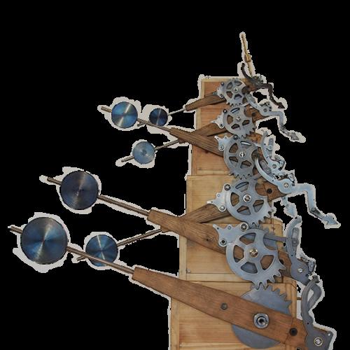 Kinetic Machine: Binary Levers