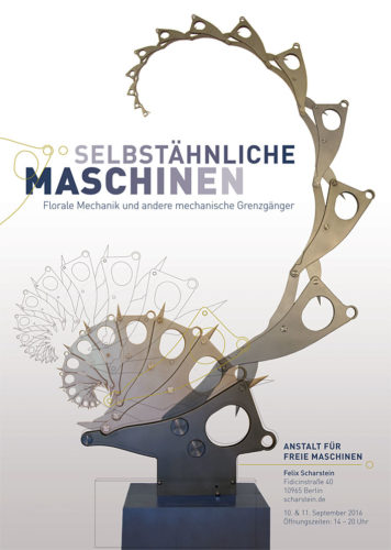 Self-similar Machines, poster for 2016 Exhibition