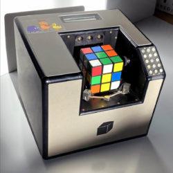 Würfelmaschine, Rubic's Cube solver, 1987