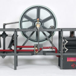 Functional model of a steam engine