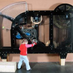 Ballwurfmaschine