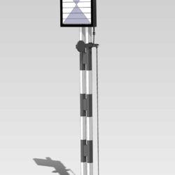 Konstruktion des Lamellensignals
